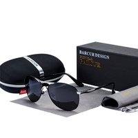 Barcur di alta qualità maschile occhiali da sole uomini polarizzati design di marca occhiali da sole maschio oculos mens occhiali da sole s8712 designer di marca Y1207
