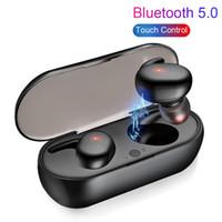 Auriculares inalámbricos Bluetooth V5.0 Y30 TWS Auriculares auriculares Auriculares Auriculares con paquete