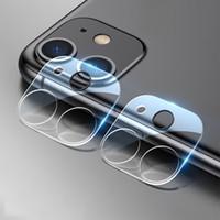 아이폰 12 프로 최대 카메라 렌즈 강화 유리 보호 필름 울트라 얇은 9H 9D 풀 커버 화면 보호기 iPhone 12 미니