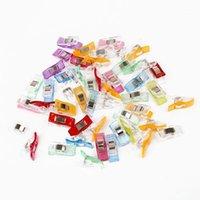 10/50 pcs colorido de alta qualidade multicolor patchwork ferramenta de costura acessório clipes de plástico hemming DIY Costura Crafts1