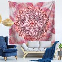 51 Diseño Mandala Tapicería Mural Colgando Mural Yoga Mats Playa Toalla Picnic Sofá Sofá Cubierta Folleto Telón de fondo Boda Decoración del hogar CCD3464
