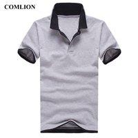 Рубашки мужчины с коротким рукавом новое прибытие мужская рубашка поло Бренд лето повседневная хлопчатобумажная мужская одежда простой стиль твердых кг-99