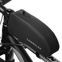 Sacs à vélos imperméables Hommes Vélo Top Tube avant Tube Cadre Sac Mâle Road Panniers Vélo Equipement de vélo Sac d'accessoires