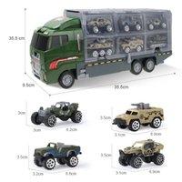 كبير الشاحنة الأطفال لعبة سيارة النار شاحنة هندسة مركبة عسكرية نموذج مصغرة دييكاست سبيكة سيارة صبي لعبة giftq1221