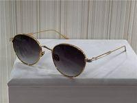 New Fashion Design Sunglasses 0009s Retro Round K Gold Frame Trend Avant-garde Style Protection Eyewear di qualità superiore con scatola