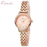 Kimio Luxus Design Mode Dame Armband Uhren Wasserdichte Quarz Elegante Weibliche Uhr Relogio Feminino Reloj Mujer Geschenkbox T200420