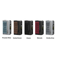 US Warehouse Voopoo 드래그 3 상자 모드 E 담배 177W 듀얼 18650 배터리 온도 제어 Vape Mods