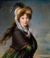 """""""Chica noble"""" Enmarcado sin marco grande Decoración Artesanías / impresión de HD pintura al óleo sobre lienzo de arte cuadro de la pared ER125"""