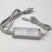 Adaptador de cargador de CA Fuente de alimentación de pared 100-240V Inicio para Nintendo Wii U Gamepad Controller
