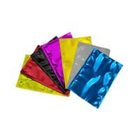 Maske Toz Kozmetik Ambalaj Çanta Gıda Tuvalet Ambalaj Alüminyum Folyo Torbalar Yenilabilen Kesilebilir Vakum Çantaları Çok Renkli Yeni 0 1BD F2