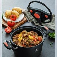 Elektrische koekenpannen JRM0239 Micro-druk fornuis huishoudelijke niet-stick lage soep pot stoofpot snel