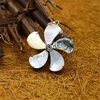 Ветряная мельница Multicolor Paua Abalone Shell Candant с ожерельем из бисера цепь натуральный abalone оболочка камень уникальные украшения