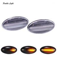 2X 18SMD Dynamic LED Segnacciatore laterale Amber luminoso per c1 c2 c3 c5 c6 xsara picasso berlingo jumpy segnali di direzione indicatore1