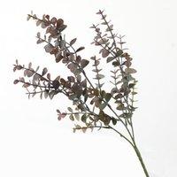 الداخلية الأوكالبتوس ورقة قبة الديكور مصنع نوم النبات الاصطناعي 1