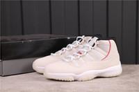 정통 점프 만 11S 높은 컷 11 백금 색조 농구 신발 상자 상자