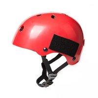 Бренд лыжный шлем для взрослых лыжный шлем Человеческий катание на коньках / скейтборд Многоцветные Снежные Спорт Красный Хелмец1