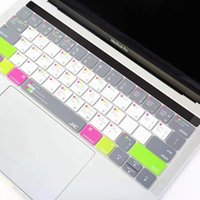 """Adesivi per la copertura della tastiera di modo per la tastiera del laptop Apple Keyboard da 10 """"a 17"""" Computer Standard Letter Layout Tastiera Covers Film"""