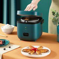 1.2L mini fogão de arroz multi-função único fogão de arroz elétrico fogão non-stick máquina de cozimento pequena fabricar sopa de porta cn1