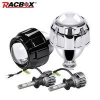 2,5 polegadas mini farol hid xenon projetor len kit h4 h7 soquete para lâmpada de retrofit diy motocicleta alta baixa feixe de alta utilização h1 led bulb1