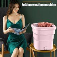 Professionelle Hand Werkzeug Sets Mini Waschmaschine Tragbare Reiniger Turbine Faltbare Eimer Typ Wäscherei Kleidung Waschmaschine für Home Travel Suppli