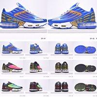 2020 Hommes Chaussures De plus TN 3 III Parachute Sunset Rouge Bleu Araignée Triple Blanc Noir Or Cool Gray Tourné Maxes Femmes Courir Formateurs