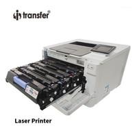 Trasferito il trasferimento del calore Materiali laser Stampante laser Compatibile a colori Bianco Cartuccia toner per la cartuccia toner bianca della stampante CMYKW1