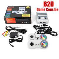 Mini 620 jeux dans 1 Super Nes SNES Mini rétro Classic Game Console Divertissement 620 jeu Av out