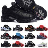 Nike Air Max Tn Shoes New Airmax Tn Plus VENTE CLASSIC NOUVEAU TN Hommes Chaussures Noir Blanc Rouge Rouge Camo Frost Tn Plus Ultra Sports Running Shoes Cher TNS