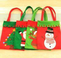 Elk Candy Bag XMAS Sweet Treat Gift Handbag Personalised Santa Party Christmas Decor1 Bags Snowman Holday Tree Store Christmas Kuhns