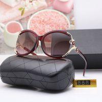 جديد الاستقطاب أزياء المرأة العلامة التجارية إطار كبير مصمم الكلاسيكية النظارات الشمسية زهرة uv400 s j1211