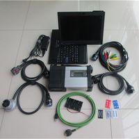 Outils de diagnostic Super MB SD C5 SSD STAR WIFI avec ordinateur portable X200T Diagnostic Diagnostic PC Software 2021.3 pour SD1