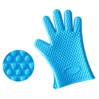 Mikrowellenofen rutschfeste mitteilen hitzebeständige silikon home handschuhe kochen backen bbq ofen topf halter mitt