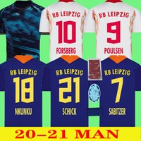 2021 2022 Leipziges 축구 유니폼 Szoboszlai Hee-Chan 20 21 Rbl Football Jerseys Konate Sabitzer Kluivert Poulsen Halstenberg 남성