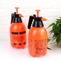 가든 2L 공압 자동 방아쇠 압력 분무기 압축 펌프 병 물을 냄비 정원 스프링클러 관개 Jardin T200530