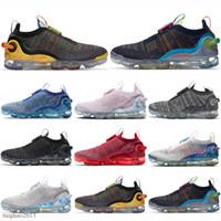 2020 니트 러닝 신발 남성 여성 360 정상 회담 흰색 순수한 플래티넘 남성 여자 트레이너 스포츠 스니커즈 크기 36-45