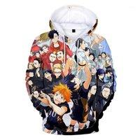 Sweats à capuche Homme Sweatshirts Shirt Sweatshirt Cosplay Costume Figure Bokuto Kenma Hinata Vêtements College Anime Hommes / Femmes Top Print Hai