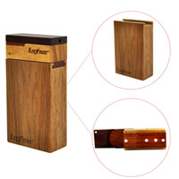 Leafman Wood Dugout One Hitter Set Smoking Pipe Set Include ...