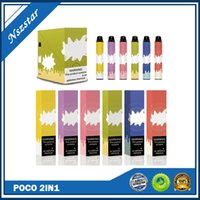 Hot Poco 2in1 одноразовые устройства устройства для устройств POD 1000 + 1000Puff 3ML POR-картридж патрон Pavore для Bang Bar Plus XL XXL Flow Max Posh