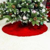 Décorations de Noël Décoration de fête Tissu de vacances Tissu Dentelle Jupe plissée
