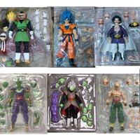 SH Figuarts Son Goku Blue Super Saiyan Saiyaman Gohan Hercule Piccolo Tenshinhan Zamasu Action Figures لعبة 201202