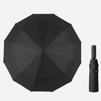 Personnalité Couleur Solide Embellas adultes Instrine Sunny Parasol Creative Creative Fairfiable Pliable Pluvoir Umbrella