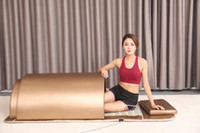 Gadgets de salud calefacción de cúpula spa cápsula adelgazando sauna masaje cama