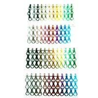Dekorative Aluminiumkette Bildschirm Vorhang Raumpartition Wunderschöner Kettenglied Metall Mesh Cardain, verwendet für Raumpartition