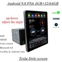 """Carplay DSP PX6 Tesla Вертикальный экран Универсальный 2 DIN 9,7 """"Android 9.0 Автомобильный DVD Радио GPS Навигация Bluetooth 5.0 WiFi Мультимедийный плеер"""