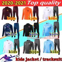 20 21 ريال مدريد سترة الاطفال كيت كرة القدم الفانيلة 2020 2021 خطر سيرجيو راموس البنزيمي رياضية الطفل البدلة كرة القدم الركض مجموعة