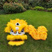 2021 Classic Leão Dance Kid Terno 5-15 Idade Play Props Sub Performance Mascot Traje Dos Desenhos Animados Dos Desenhos Animados Dress Ornamen Sports Toys Game Carnaval
