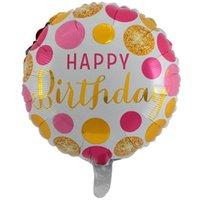 Festa di compleanno Ballons Palloncini di alluminio Palloncini gonfiabili Gonfiabili BUONOME BALLOON BALLOONS BAMBINI BAMBINI BAMBINI Forniture per bambini 30 disegni 18 pollici