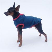 Pull Pullover de chien Sans manches Couche d'équipage Tactic Pet Snap Bouton Bouton Vest Equipement Poodle Vêtements Hiver épaississement d'une nouvelle arrivée 6 7ly G2