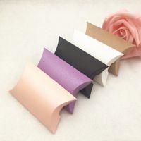 Складные крафт-бумажные конфеты для свадебных оформлений и украшения украшения и ювелирных изделий в 5 цветах с высоким качеством