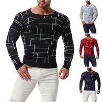 Colkder O-Neck Men Knitted Woolen Casual Long Sleeve Pullover Solid Mens Designer Sweater